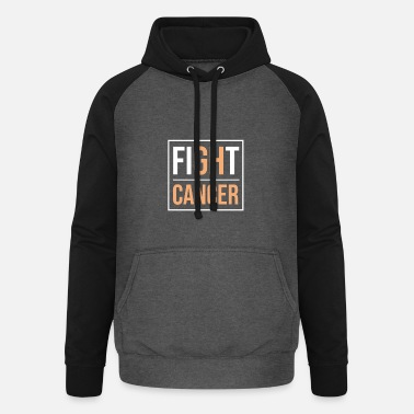 Fight Cancer FIGHT CANCER - Unisex Baseball Hoodie