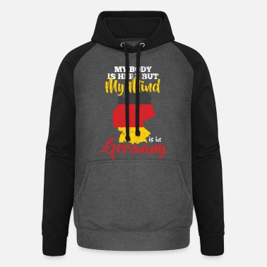 Federal States Germany federal states - Unisex Baseball Hoodie