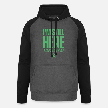 Cancer Survivor Cancer survivor - Unisex Baseball Hoodie