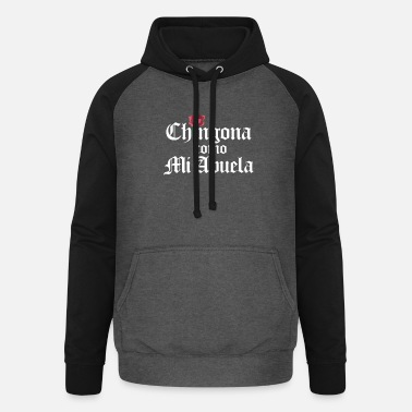 Mi Chingona Como Mi Abuela. For strong latina women - Unisex Baseball Hoodie