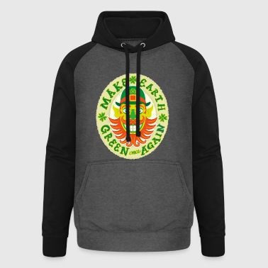 Make Earth green once again - Unisex Baseball Hoodie