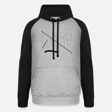 Dash Dashes 1 - Unisex Baseball Hoodie