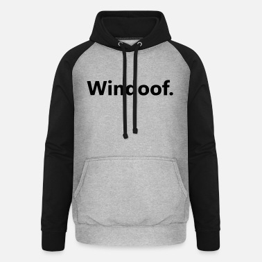 Windows Windows - Unisex Baseball Hoodie