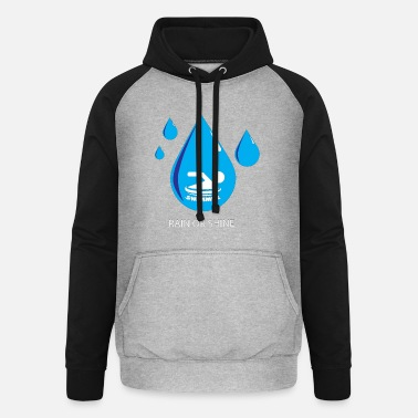 Swimmer Swimmer in the water - Unisex Baseball Hoodie