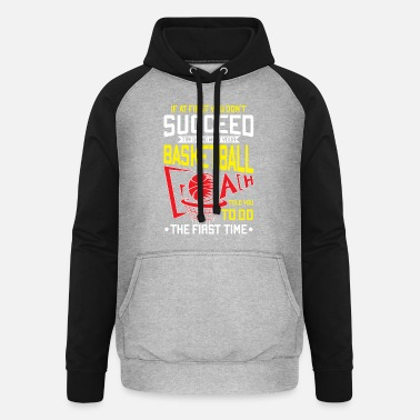 9bd82563f5b7f4 Jordan Do not do what your basketball coach told - Unisex Baseball Hoodie