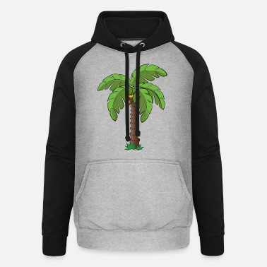 Palm Trees Palm tree - Unisex Baseball Hoodie