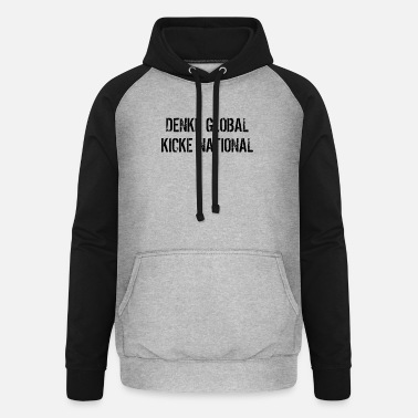 National global national - Unisex Baseball Hoodie