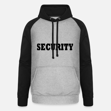 Security Service Security service - Unisex Baseball Hoodie