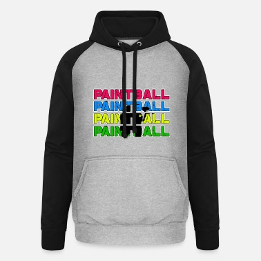 Paintball Paintball Paintball Paintball Paintball - Unisex baseball huppari
