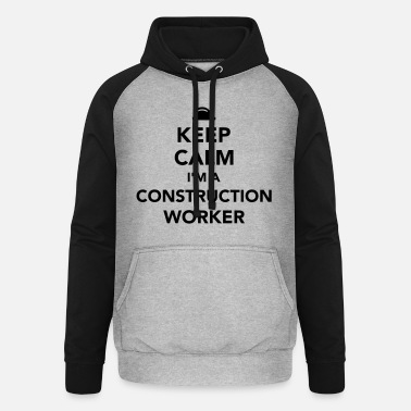 Worker Construction worker - Unisex baseball huppari
