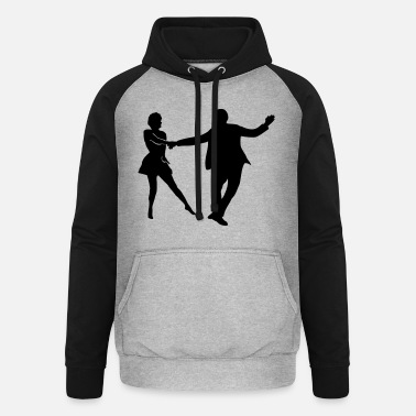 Swing Dancer west coast swing dancer - Unisex Baseball Hoodie