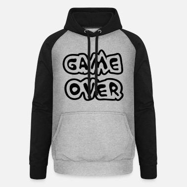 Game Over Game Over - Unisex baseball huppari