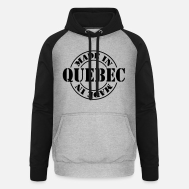 Quebec made in quebec m1k2 - Unisex baseball huppari