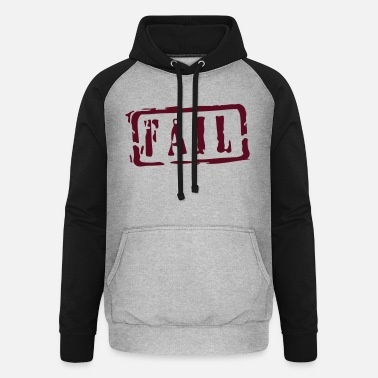 Writing fail writing - Unisex Baseball Hoodie