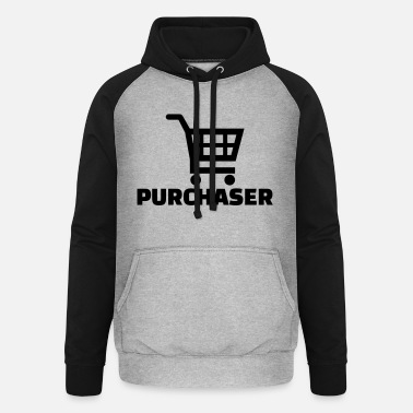 Purchase Purchaser - Unisex Baseball Hoodie