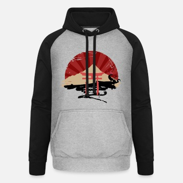 Sun Country of the rising sun - Unisex Baseball Hoodie