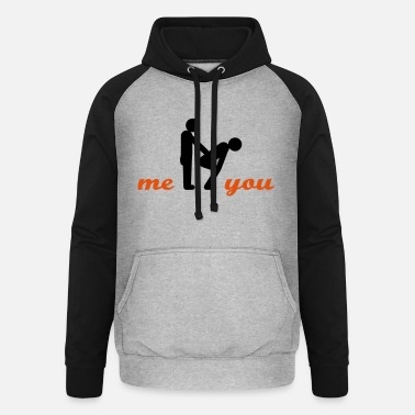 Form two guys (t) - Unisex Baseball Hoodie
