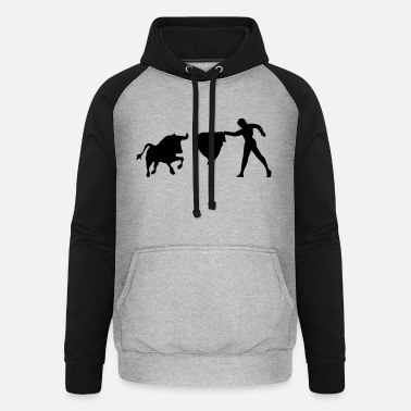 Bullfighting Bullfight - Unisex Baseball Hoodie