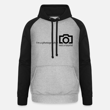 Photograph-jetzt-alle-mal I'm a photographer - Unisex Baseball Hoodie