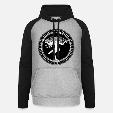Wit Manipulated Shiva - Unisex baseball hoodie