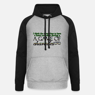 Charade Game of Charades 53 G - Unisex Baseball Hoodie