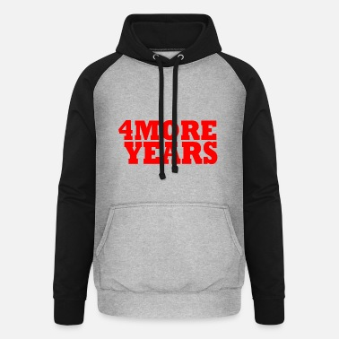 Security Service 4 more years - Unisex Baseball Hoodie