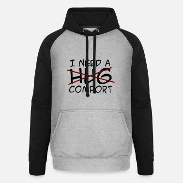Console Consolation - Unisex Baseball Hoodie
