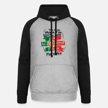 Paredes HOLIDAY HOME ROOTS TRAVEL IN Portugal Paredes - Unisex Baseball Hoodie