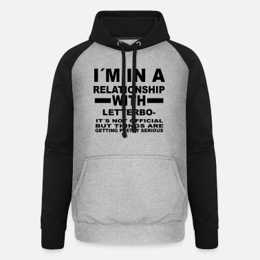 Letterboxing relationship with LETTERBOXING - Unisex Baseball Hoodie