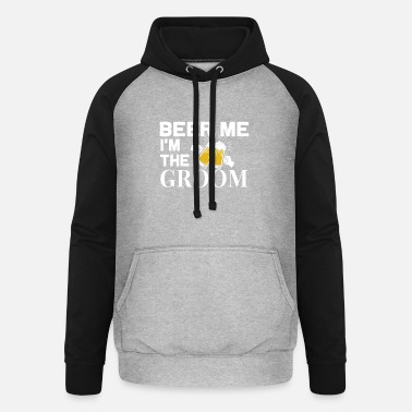 Groom To Be Groom to be groom JGA party wedding - Unisex Baseball Hoodie