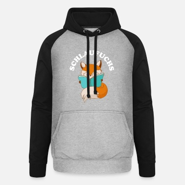 Clever Clever as a fox clever clever - Unisex Baseball Hoodie