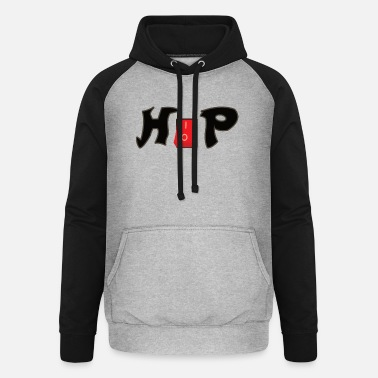 Hip Hop Rap Bataille Freestyle Musique Bling Cadeau - Sweat à capuche baseball unisexe