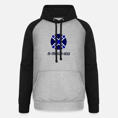 DESIGN THE TROLLER ALEX EVO - Unisex Baseball Hoodie