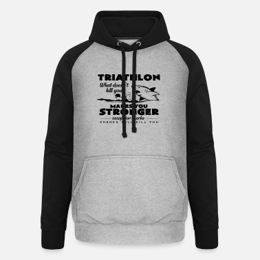 Triathlet Triathlet - Unisex Baseball Hoodie