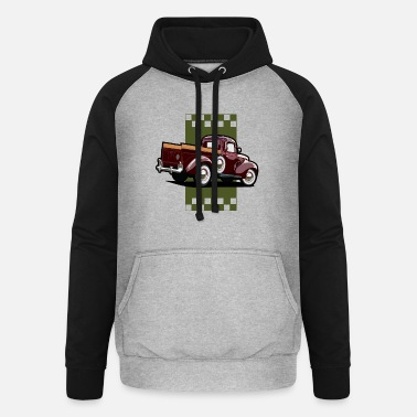 Pick-up-van Pick up van - Unisex Baseball Hoodie