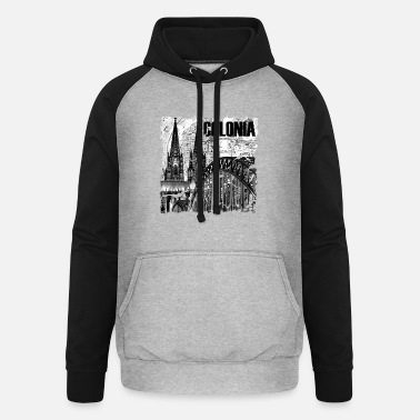Colonia Colonia is love - Unisex Baseball Hoodie