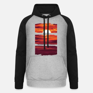 A Series Of Pure nature wonderful sunset t-shirt - Unisex Baseball Hoodie
