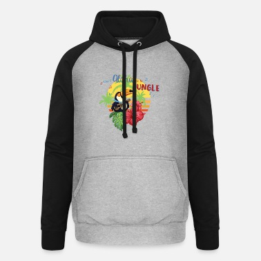 Aloha of the Jungle - Unisex Baseball Hoodie