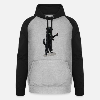 Landschaft Anyone for Port? - Unisex Baseball Hoodie