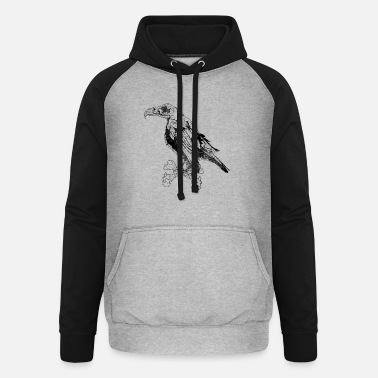 Gaier The Gaier Black - Unisex Baseball Hoodie