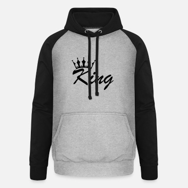 Prince King and queen - Unisex Baseball Hoodie