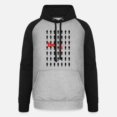Exceptional be exception - Unisex Baseball Hoodie