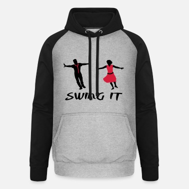 Swing Dancer Swing it, swing dance - Unisex Baseball Hoodie