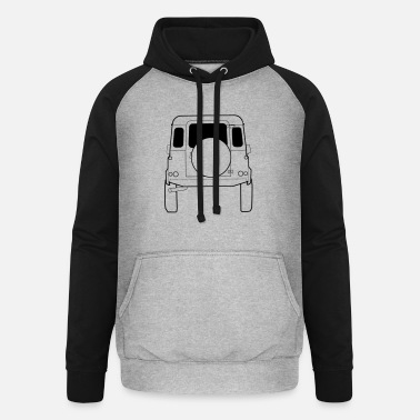 Land Rover Defender Land Rover Defender - Unisex Baseball Hoodie
