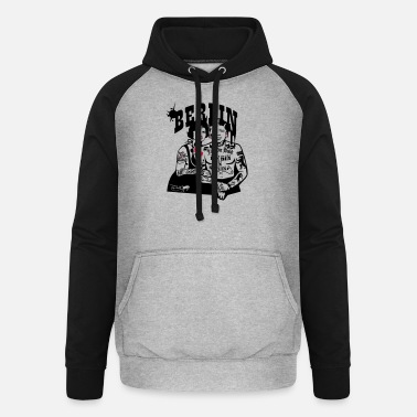 Coltclothing Berlin Caption - Unisex Baseball Hoodie