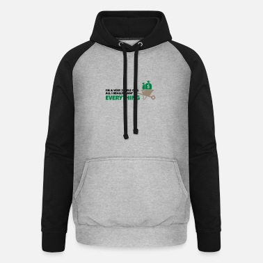 Bitch I'm A Simple Girl. All I Really Want Is Everything - Unisex Baseball Hoodie
