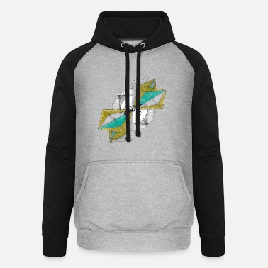 INterSECTS Collection V - Unisex baseball hoodie