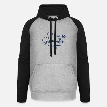 Floor Exercises floor Exercise - Unisex Baseball Hoodie