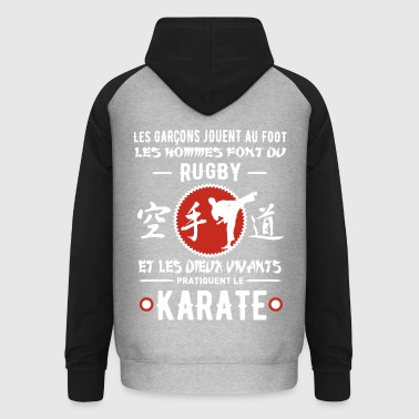 KARATE humour - Sweat-shirt baseball unisexe