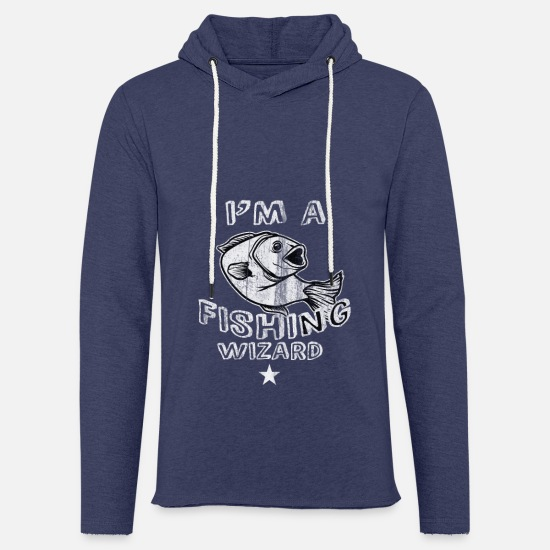 Gift Idea Hoodies & Sweatshirts - Fishing fishing fishing hooks - Unisex Sweatshirt Hoodie heather navy